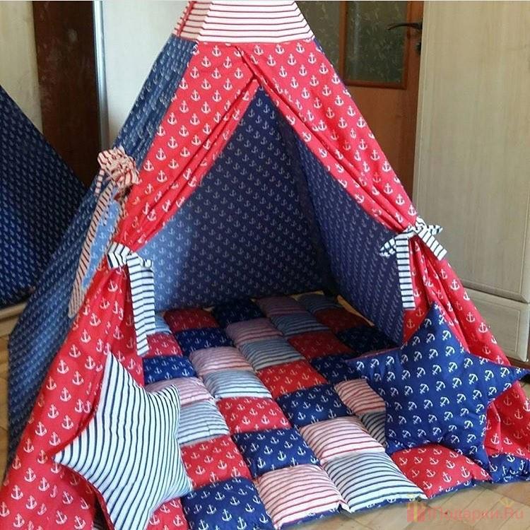 подарить палатку детям на новый год