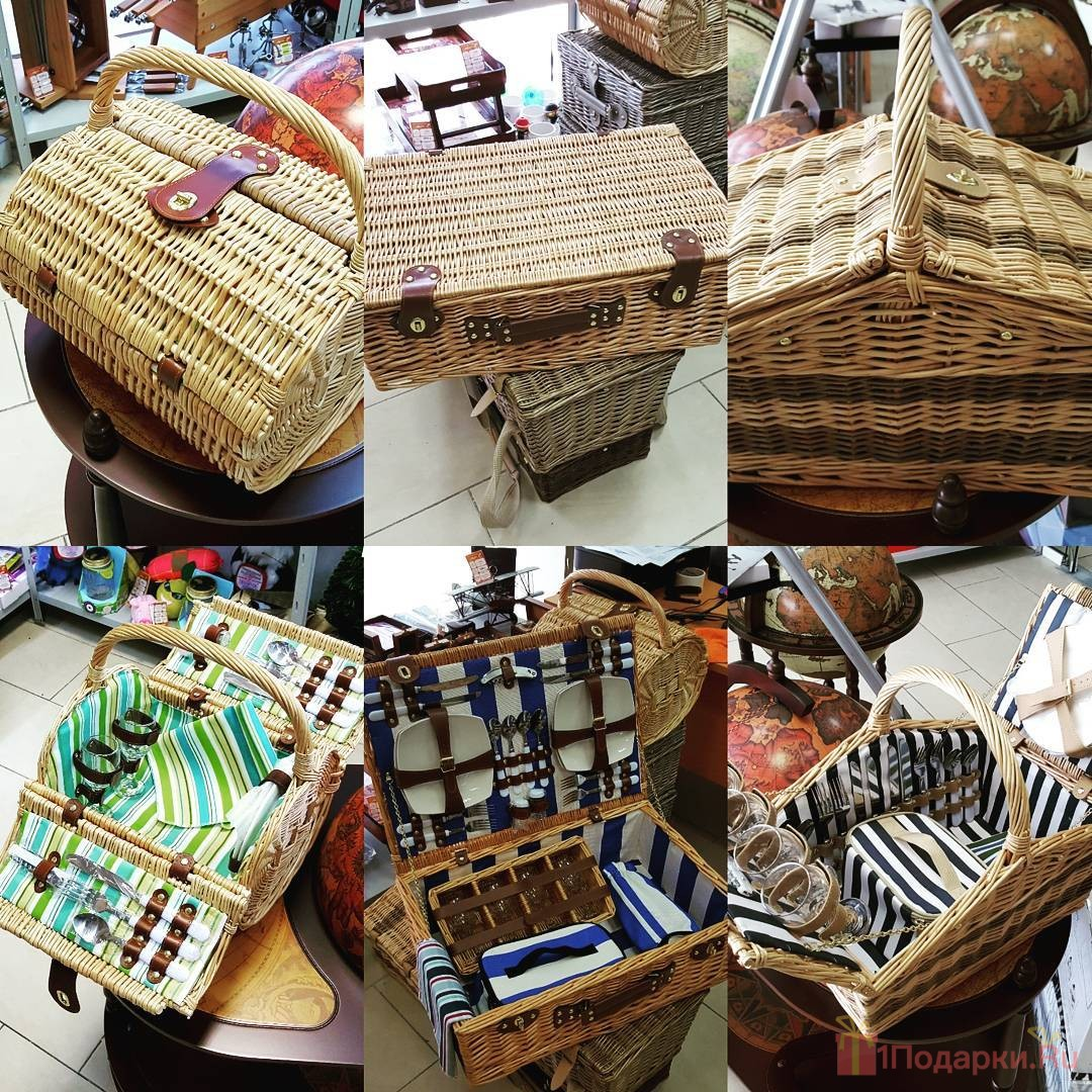 корзинка для пикника подарок