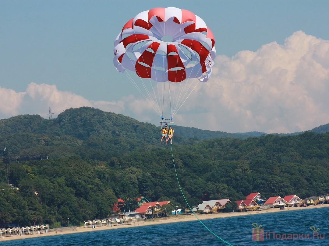 подарок мужчине полёт с парашютом