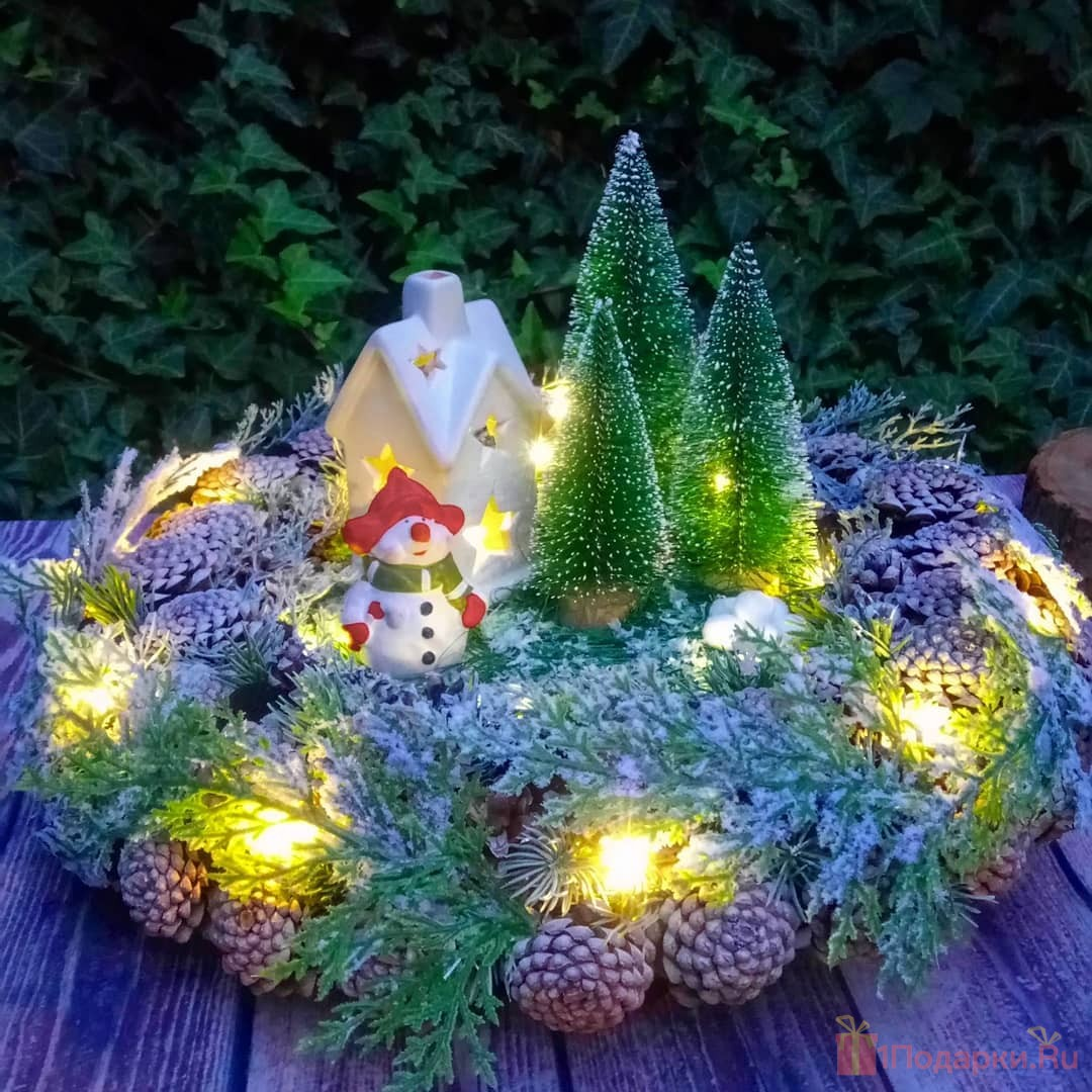 рождественский светильник