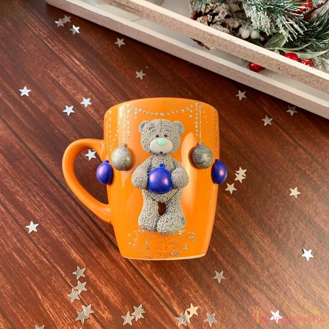 кружка и чашка на рождество