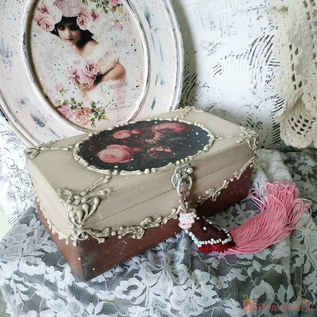 шкатулка сестре на день рождения