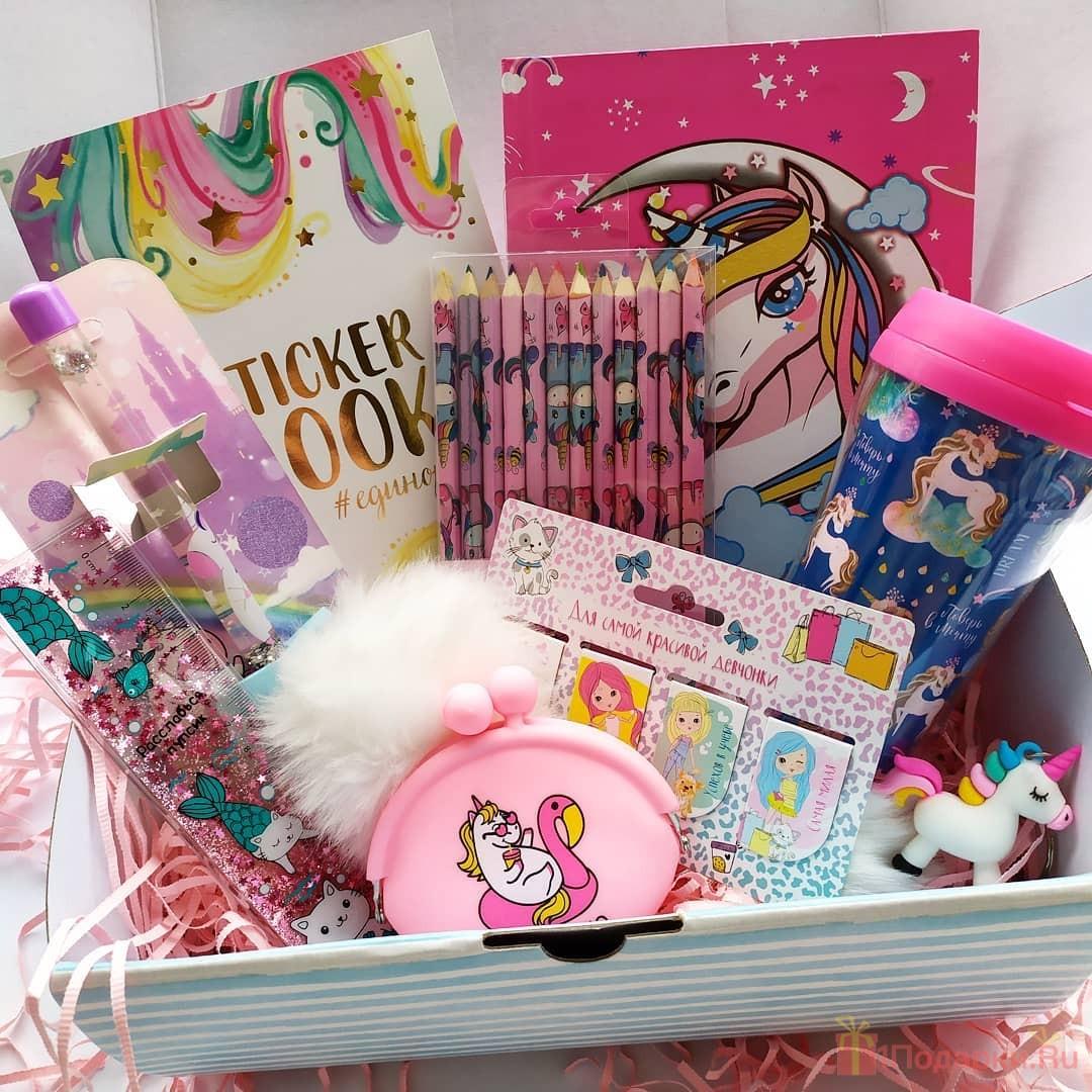 набор подарков для девочки 8 лет