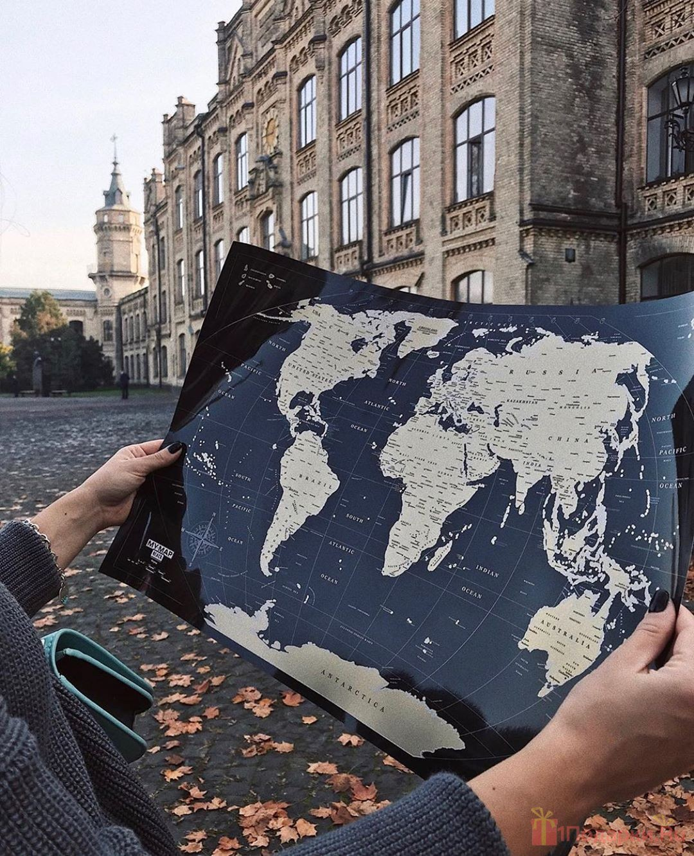скретч-карта как подарок